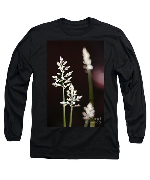 Long Sleeve T-Shirt featuring the photograph Wild Grass by Andy Prendy