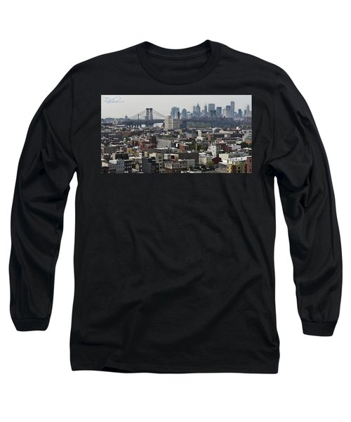 Williamsburg Bridge Long Sleeve T-Shirt