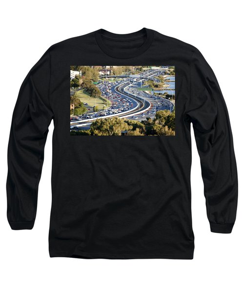 Long Sleeve T-Shirt featuring the photograph Winding Road by Yew Kwang