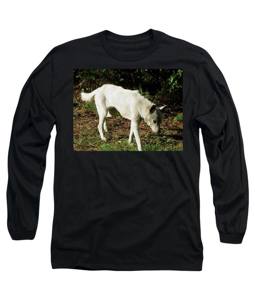 Wolf 2 Long Sleeve T-Shirt by Maria Urso