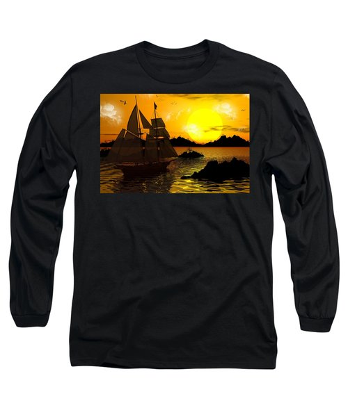 Wooden Ships Long Sleeve T-Shirt