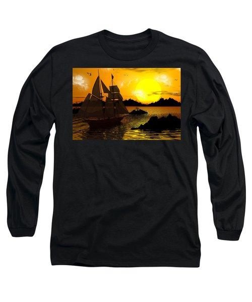 Wooden Ships Long Sleeve T-Shirt