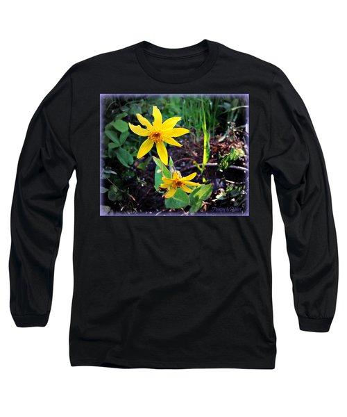Woods Flower Long Sleeve T-Shirt