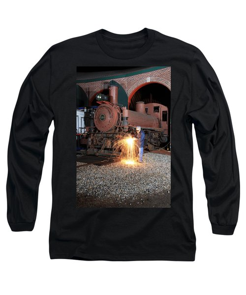 Working On The Railroad Long Sleeve T-Shirt