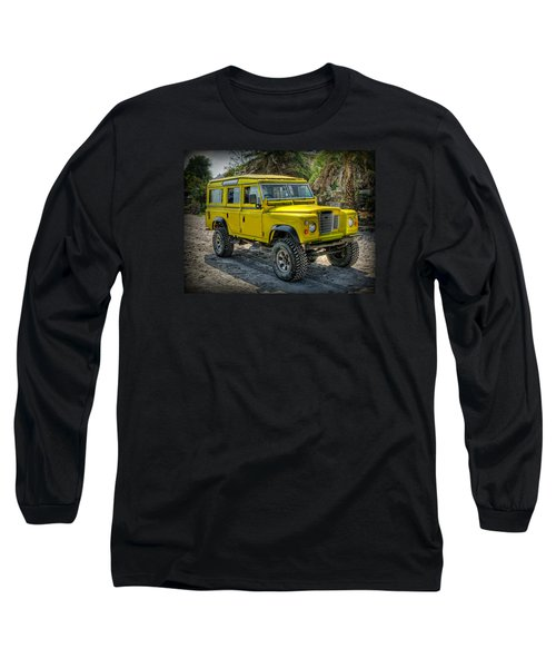 Yellow Jeep Long Sleeve T-Shirt