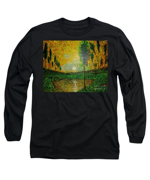 Yellow Pond Long Sleeve T-Shirt