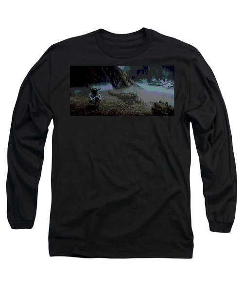 Yoda In Meditation Long Sleeve T-Shirt