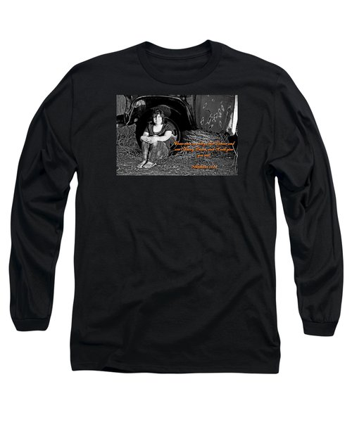 You Shall Find Rest Long Sleeve T-Shirt
