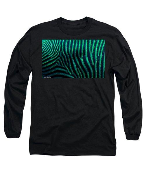 Z Print Long Sleeve T-Shirt