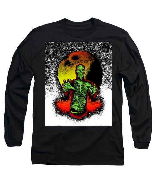 Zombie Long Sleeve T-Shirt by Tony Koehl