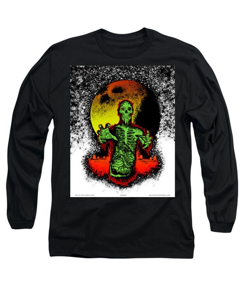 Zombie Long Sleeve T-Shirt