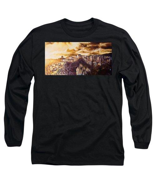 Golden Lights Long Sleeve T-Shirt