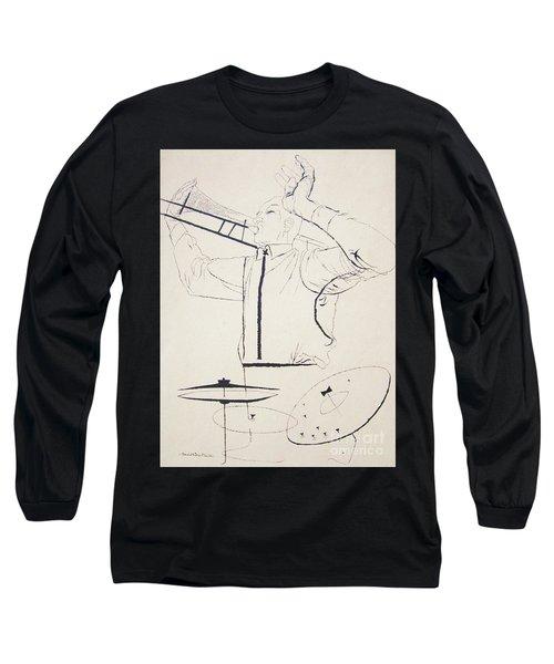 Jazz Image Long Sleeve T-Shirt