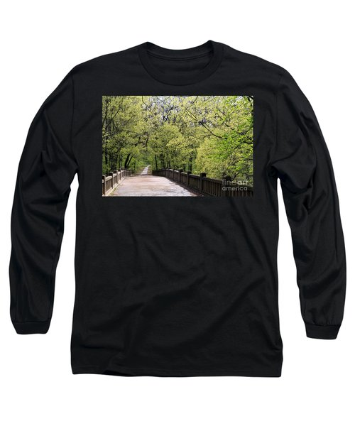 Long Sleeve T-Shirt featuring the photograph  Matthiessen State Park In Spring by Paula Guttilla