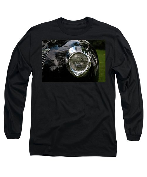 Long Sleeve T-Shirt featuring the photograph  One Eye 13128 by Guy Whiteley