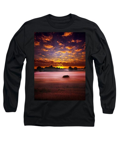 Long Sleeve T-Shirt featuring the photograph  Quiescent  by Phil Koch