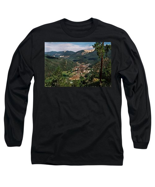 Red River At Sunrise Long Sleeve T-Shirt