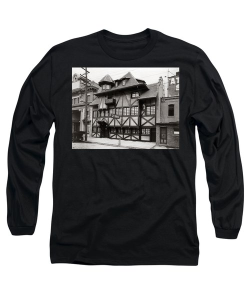Scranton Pa Zenke's Alt Heidelberg Restaurant Early 1900s Long Sleeve T-Shirt