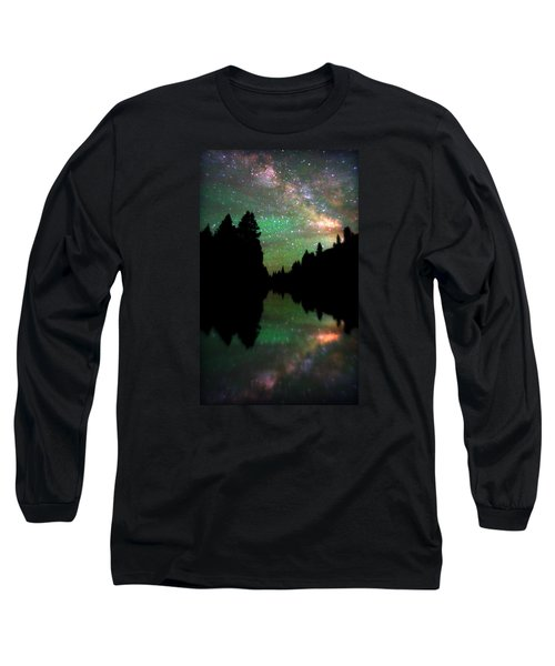 Starry Dreamscape Long Sleeve T-Shirt by Matt Helm