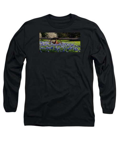 Texas Bluebonnets IIi Long Sleeve T-Shirt