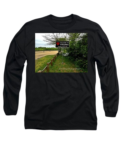 Welcome To Virginia  - No.430 Long Sleeve T-Shirt
