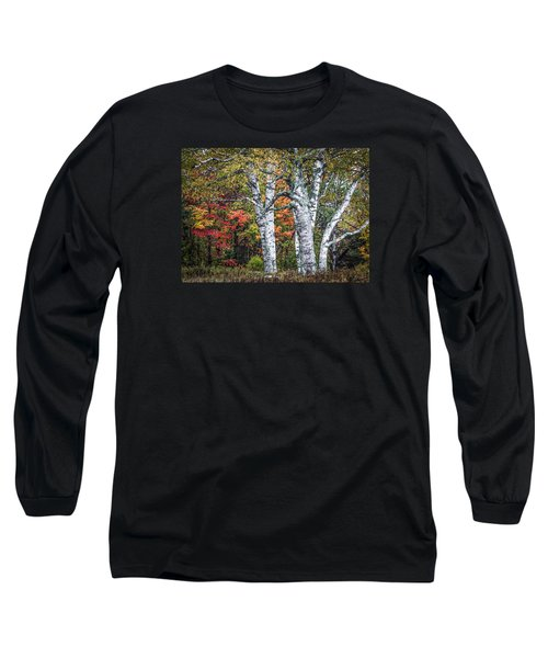 #0050 - Birch Trees Long Sleeve T-Shirt