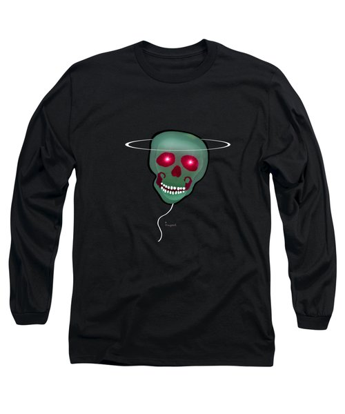 1279 - T Shirt Skull Long Sleeve T-Shirt