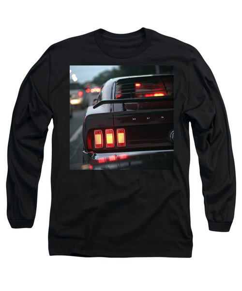 1969 Ford Mustang Mach 1 Long Sleeve T-Shirt