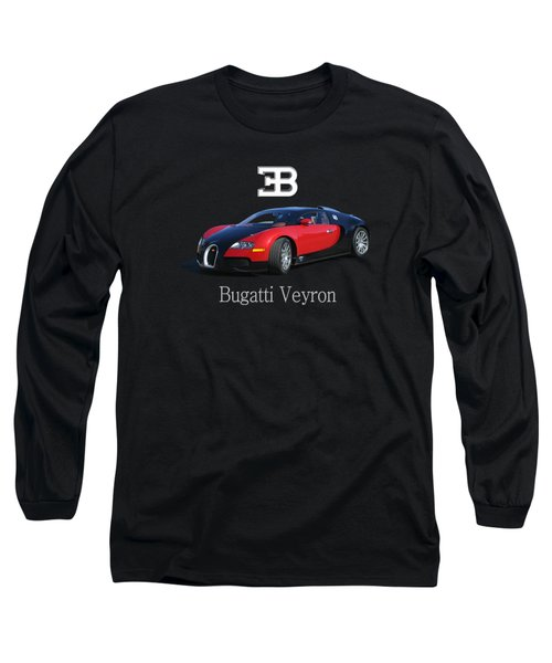 2010 Bugatti Veyron Long Sleeve T-Shirt