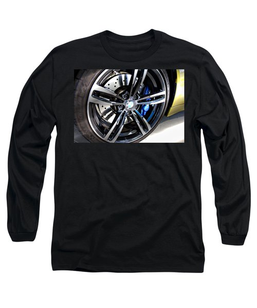 Long Sleeve T-Shirt featuring the photograph 2015 Bmw M4 by Aaron Berg