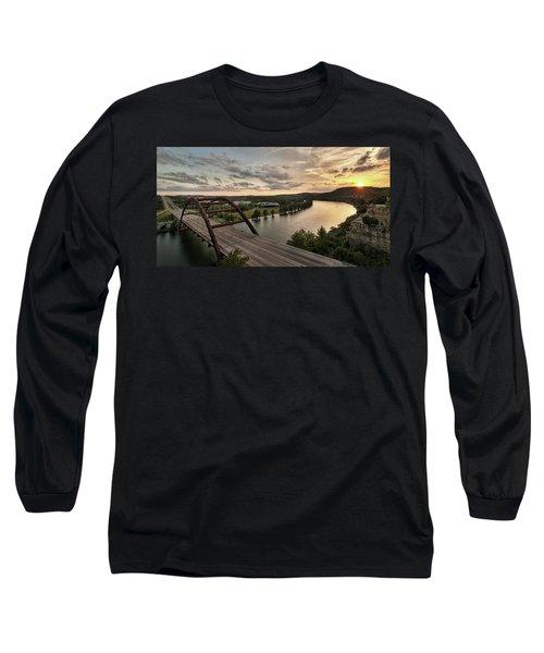 360 Bridge Sunset Long Sleeve T-Shirt