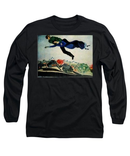 Above The Town Long Sleeve T-Shirt