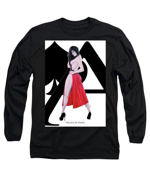 Ace Of Spades Long Sleeve T-Shirt