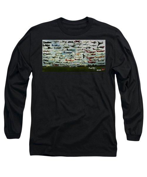Airventure Cup Air Race, 2017 - Panorama Long Sleeve T-Shirt