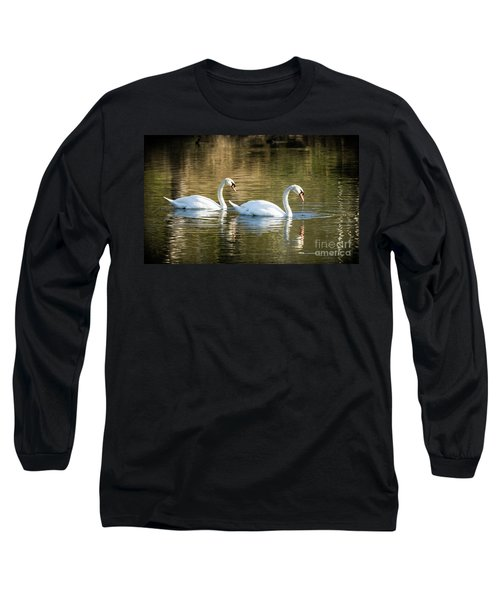Always Together Wildlife Art By Kaylyn Franks Long Sleeve T-Shirt
