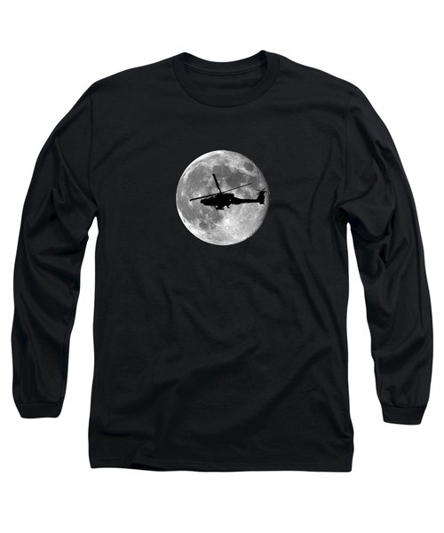 Apache Moon .png Long Sleeve T-Shirt