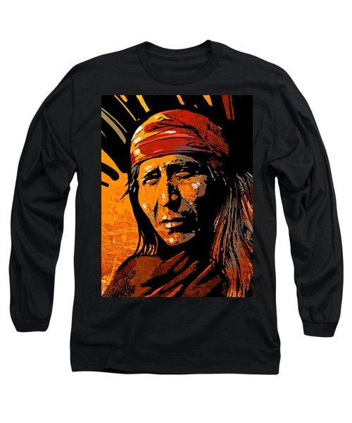 Apache Warrior Long Sleeve T-Shirt