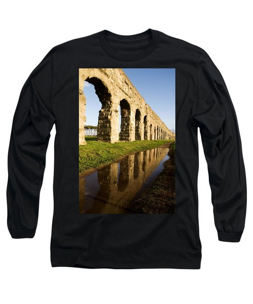 Aqua Claudia Aqueduct Long Sleeve T-Shirt