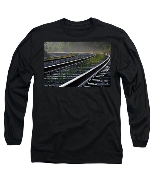 Long Sleeve T-Shirt featuring the photograph Around The Bend by Douglas Stucky