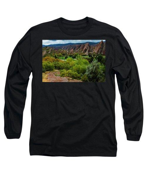 Arrowhead Long Sleeve T-Shirt by Kristal Kraft