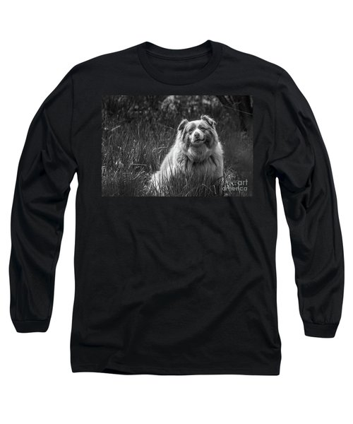 Australian Shepherd Dog Long Sleeve T-Shirt