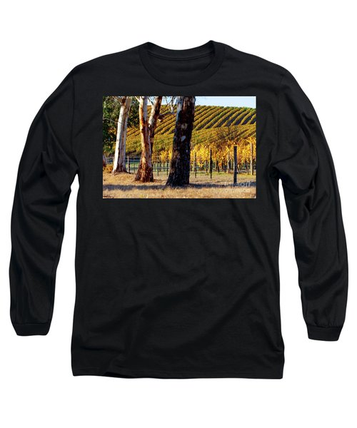 Autumn Vines Long Sleeve T-Shirt by Bill Robinson