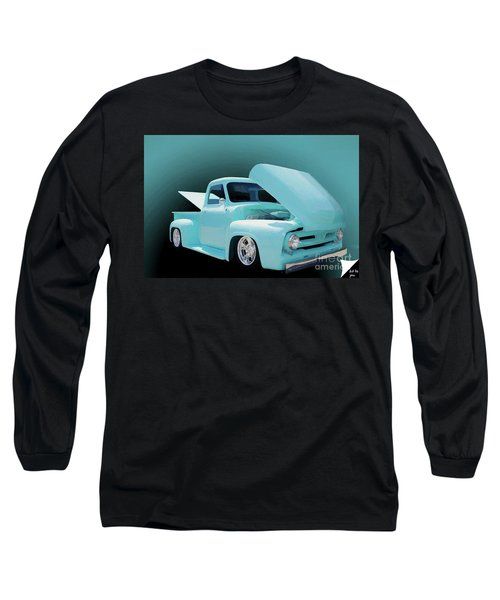 Long Sleeve T-Shirt featuring the photograph Baby Blue 2 by Jim  Hatch