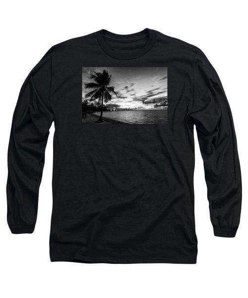Bahia Honda State Park Sunset Long Sleeve T-Shirt