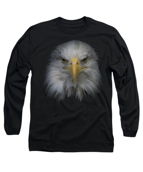 Long Sleeve T-Shirt featuring the photograph Bald Eagle by Ernie Echols