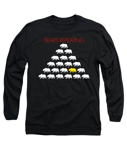 Bears Repeating Long Sleeve T-Shirt by Jim Pavelle