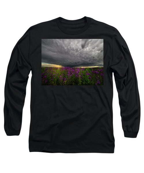 Long Sleeve T-Shirt featuring the photograph Beauty And The Beast by Aaron J Groen