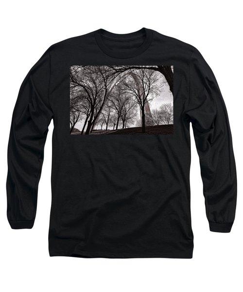 Blending In Long Sleeve T-Shirt by Robert FERD Frank