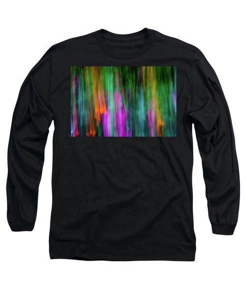 Blurred #3 Long Sleeve T-Shirt