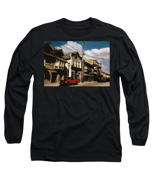 Brady Street Scene Long Sleeve T-Shirt